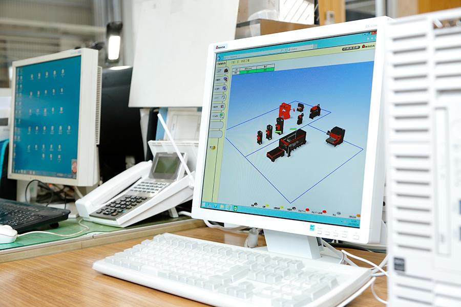 稼働管理ソフト Vfactory